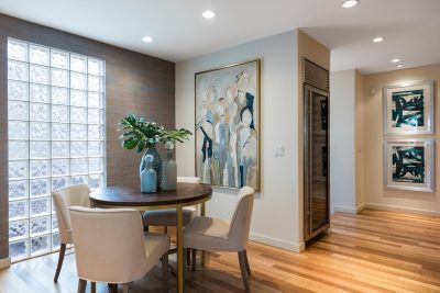 Home Staging Contemporary Dining Nook
