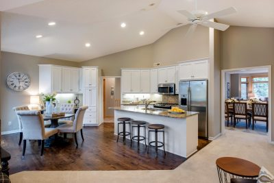Staged Townhome Kitchen