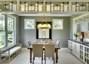 Craftsman Home Staging Dining Room MN