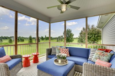 Craftsman Home Staging Porch MN