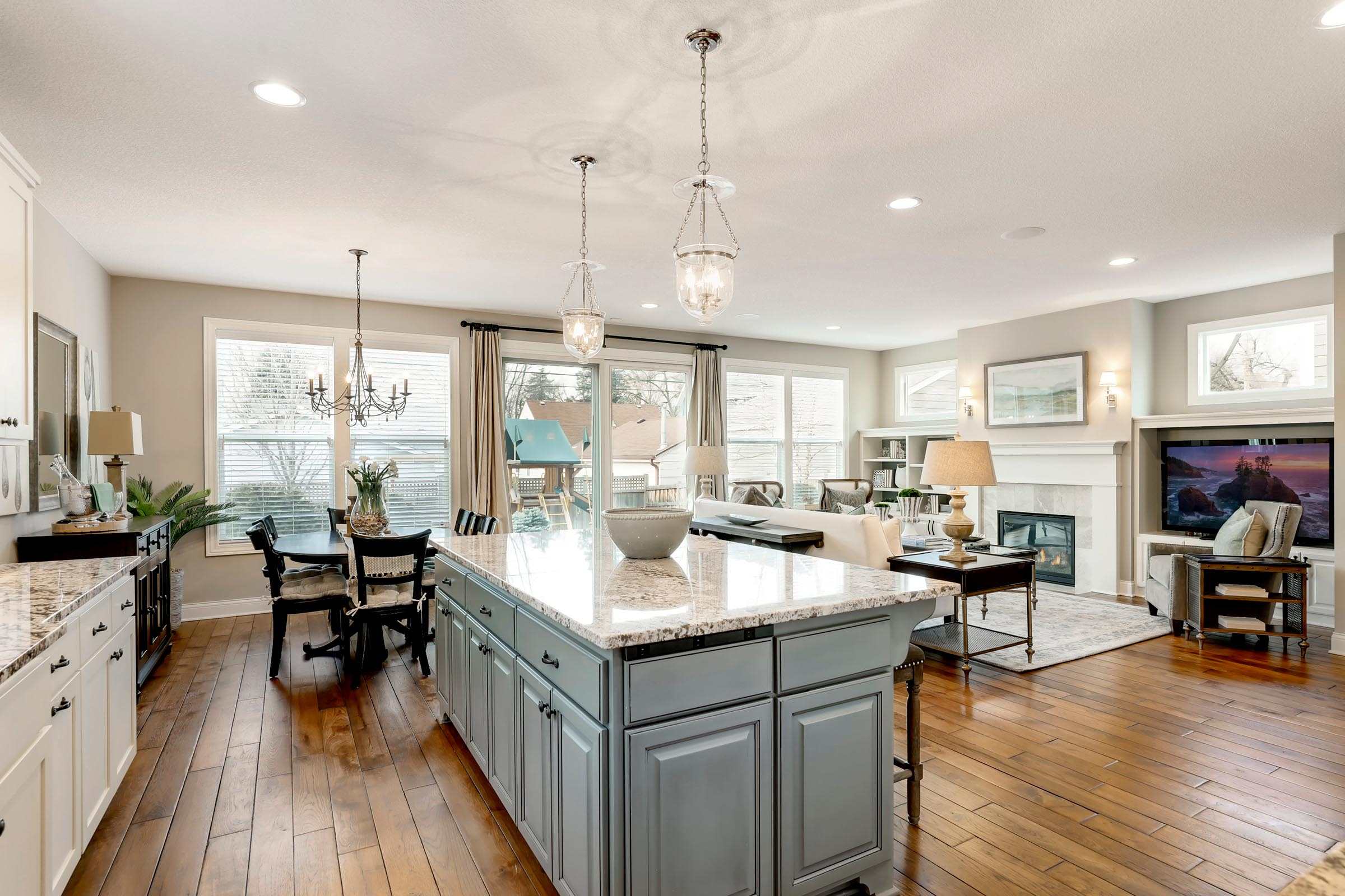 Gorgeous Kitchen Home Staging in MN