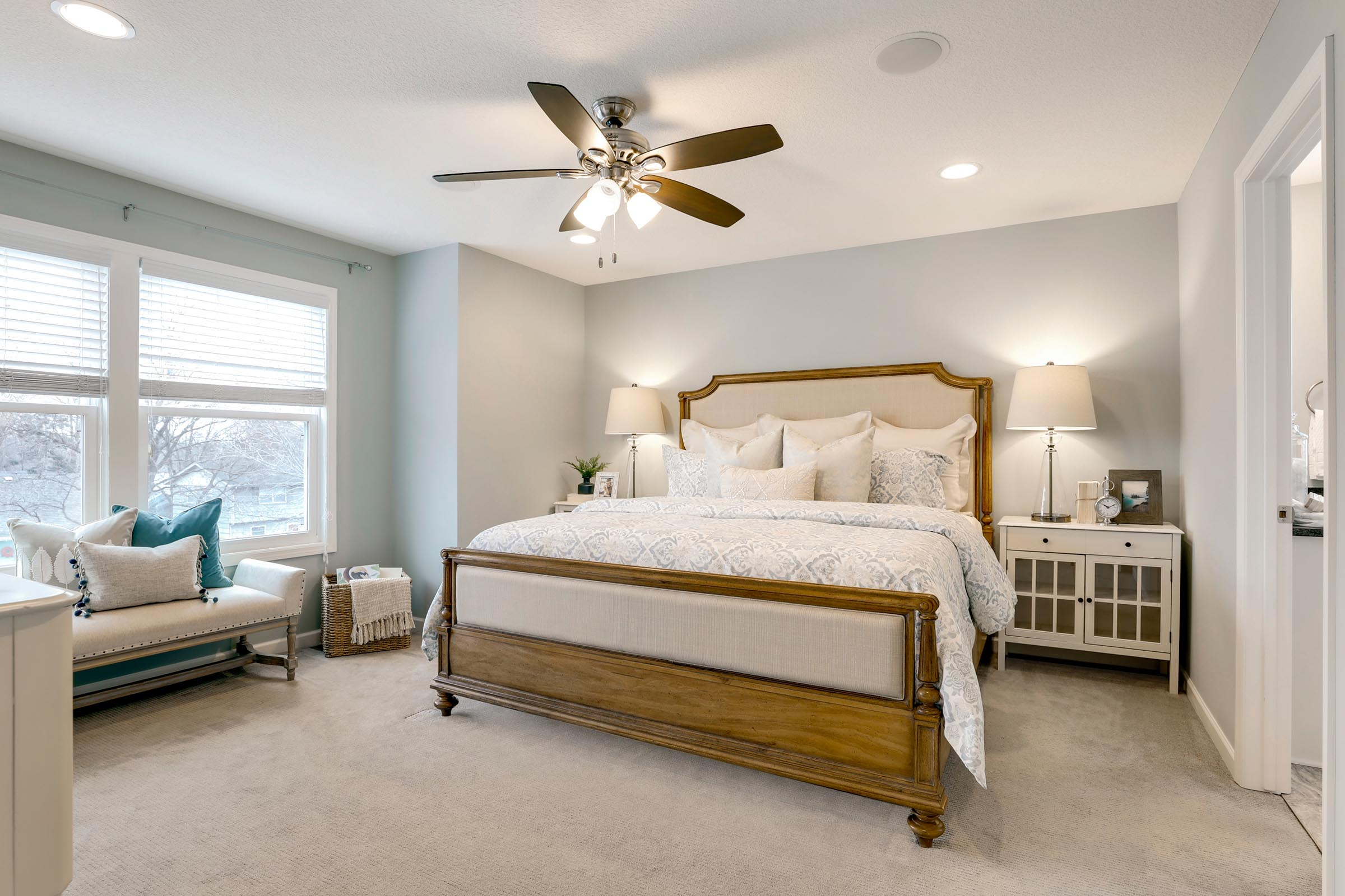 Gorgeous Master Home Staging in MN
