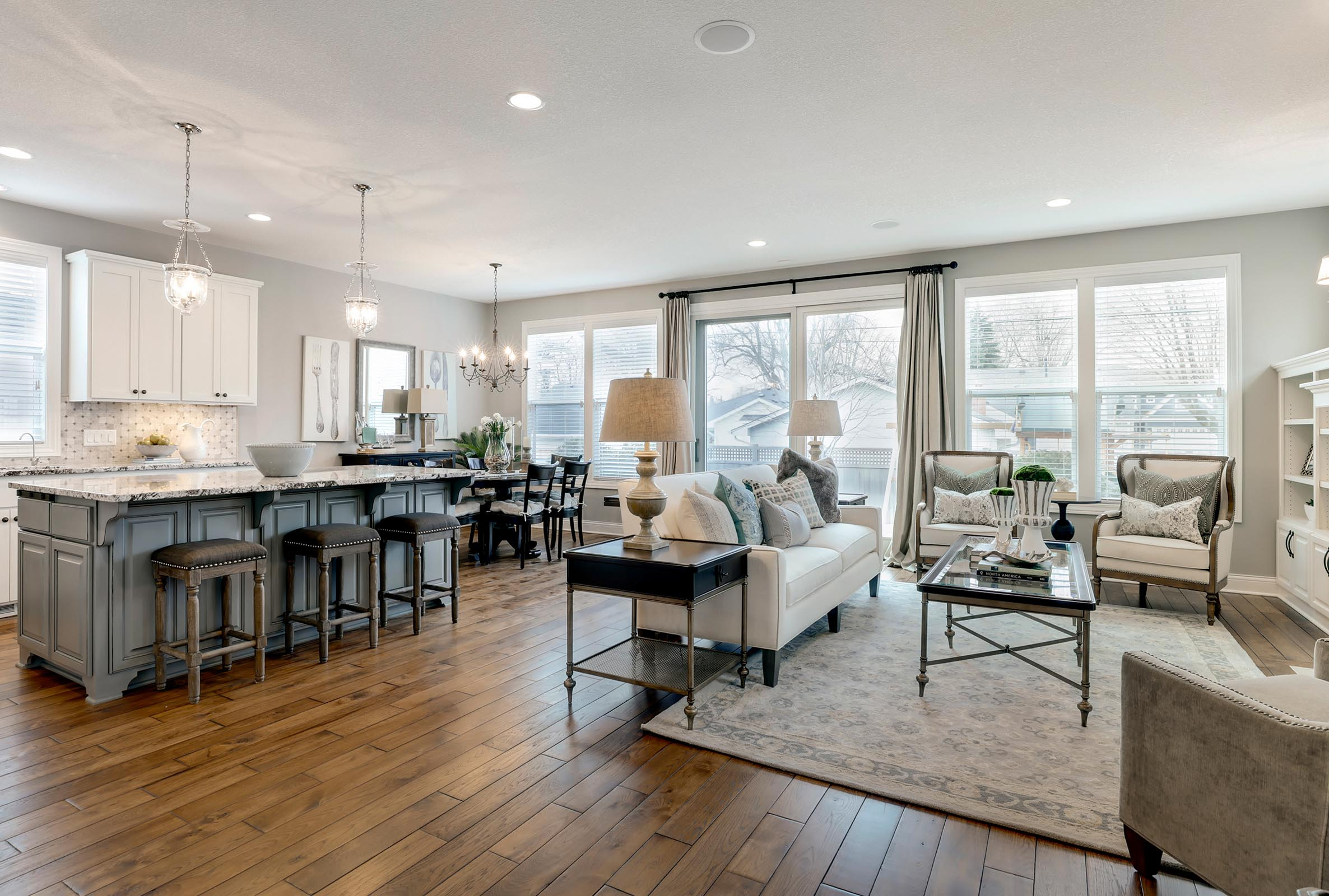 Gorgeous Open Concept Home Staging in MN
